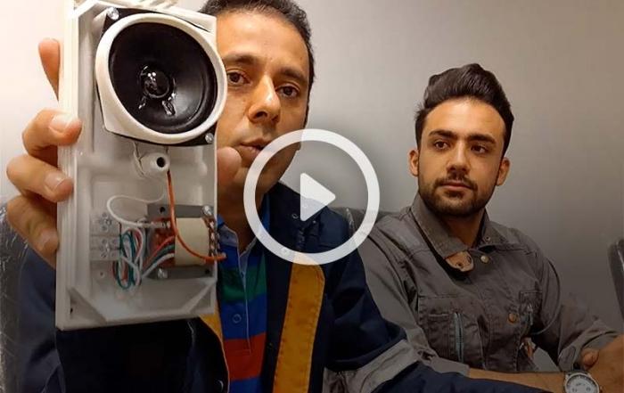 ویدیو معرفی بلندگو دیواری DNH